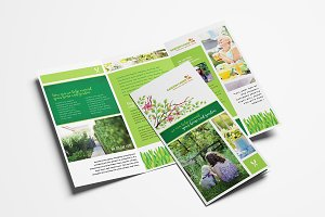 Gardening Service Brochure Template