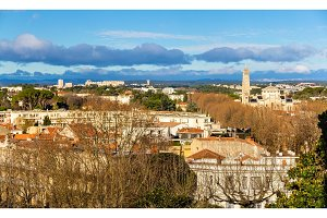 View of Montpellier - France, Languedoc-Roussillon