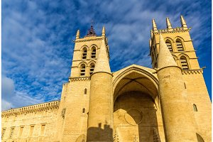 Montpellier Cathedral of Saint Pierre - France, Languedoc-Roussi