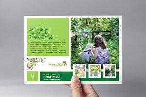 Gardening Service Flyer Template
