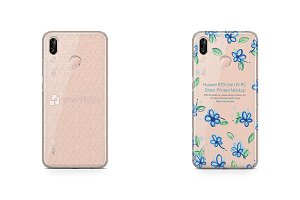 Huawei P20 Lite UV PC Clear Case