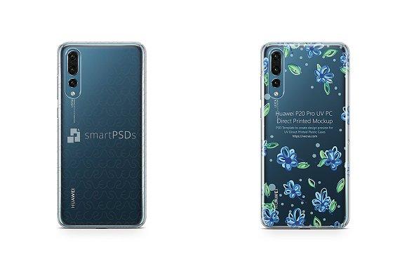 Huawei P20 Pro UV PC Clear Case