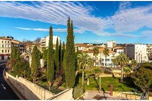 Jardin des Potiers in Montpellier - France, Languedoc-Rousillon