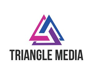 Triangle Media Logo Template