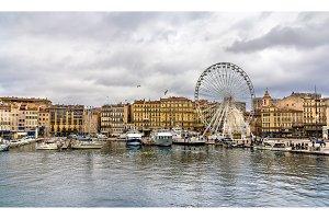 Marseille near the Old Port - France, Provence