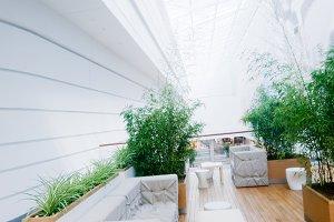 Modern business interior