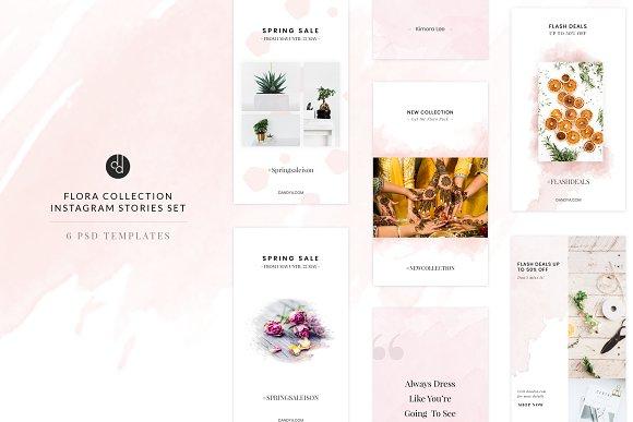 Flora Collection Instagram Stories