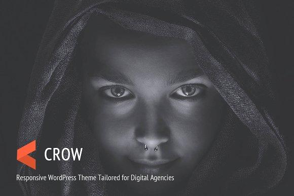 Crow WordPress Portfolio Theme
