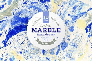 vector marble collection