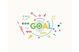 Goal banner concept