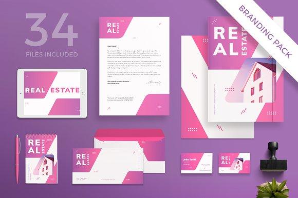 Branding Pack Real Estate Agency