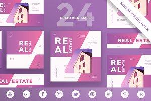 Social Media Pack | Real Estate Agen
