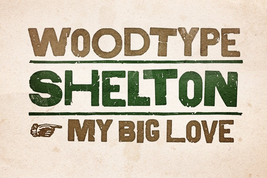 Shelton in Display Fonts - product preview 8