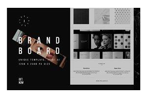 Brand Board Template / 1