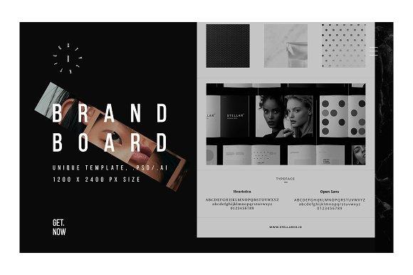 Brand Board Template 1