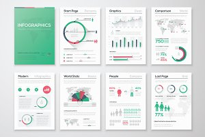 Infographic Brochure Elements 8