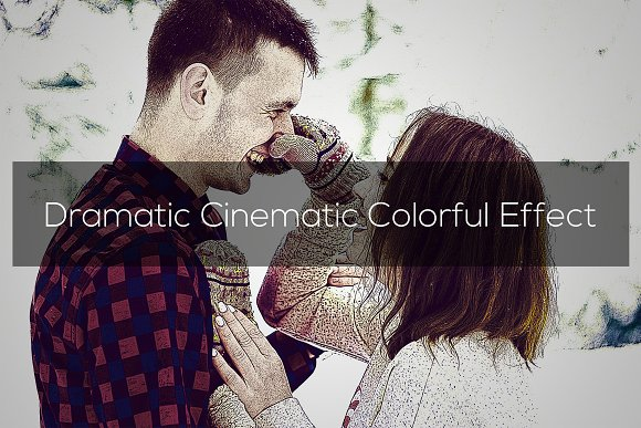 Dramatic Cinematic Colorful Effect