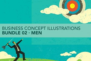 Business Concepts Bundle 02 Men