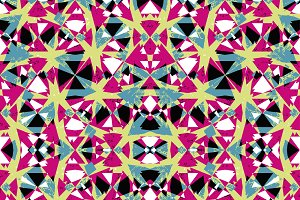 Multicolored Abstract Pattern