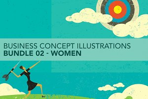 Business Concepts Bundle 02 Women