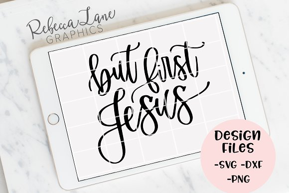 But First Jesus Design Files