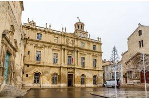 Hotel de Ville (Town Hall) of Arles - France, Provence-Alpes-Cot