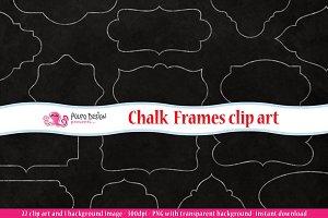 Chalkboard Frames clipart