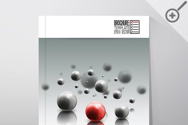 Science brochure template
