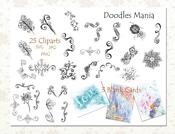 Flourish Clipart Collection