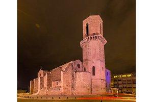 Saint Laurent church in Marseille - Provence, France