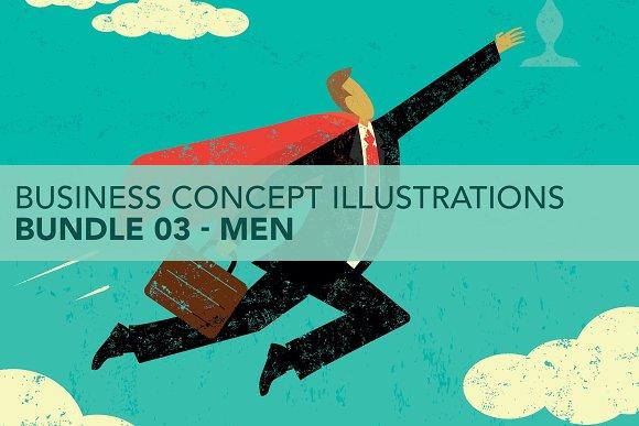 Business Concepts Bundle 03 Men