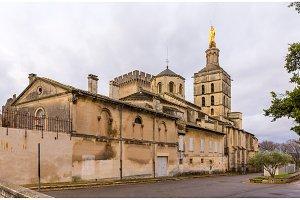 Cathedral Notre-Dame des Doms of Avignon, France