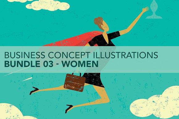 Business Concepts Bundle 03 Women