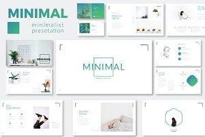 Minimal Minimalist Powerpoint