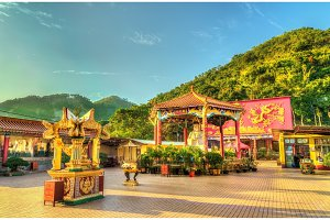 The Ten Thousand Buddhas Monastery in Hong Kong