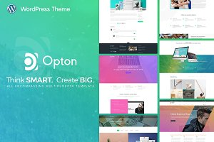 Opton Multi-Purpose WordPress Theme