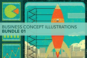 Business Concepts Bundle 01