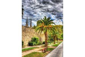 City garden of Bayonne - France, Aquitaine