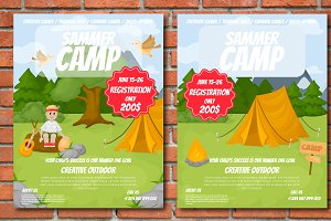 Summer Camp Two Flyers