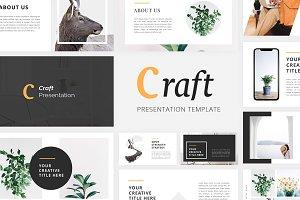 Craft - Portfolio Google Slides