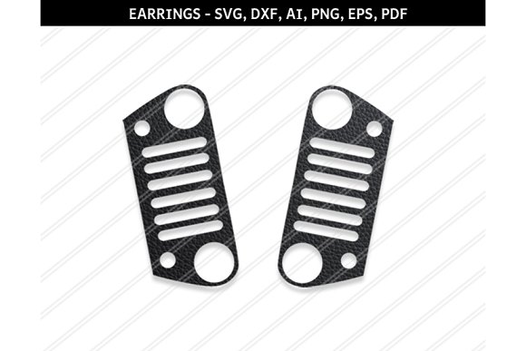 Jeep Grill Svg Dxf Ai Eps Png Pdf