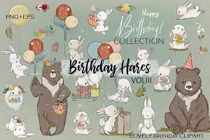 Birthday Hares VOL3