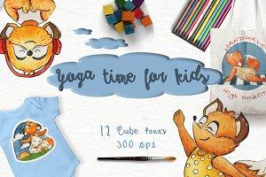 Yoga time for kids