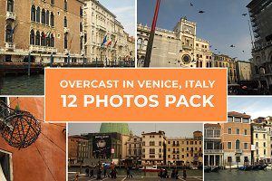 12 Photos Pack - Overcast In Venice