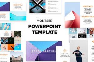 Montser Powrpoint Template - 5$