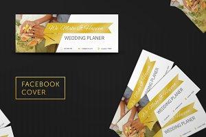 Wedding Facebook Cover #028