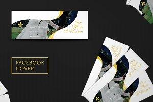 Wedding Facebook Cover #026