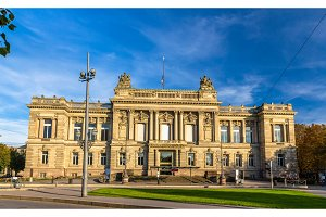 National theatre of Strasbourg - Alsace, France