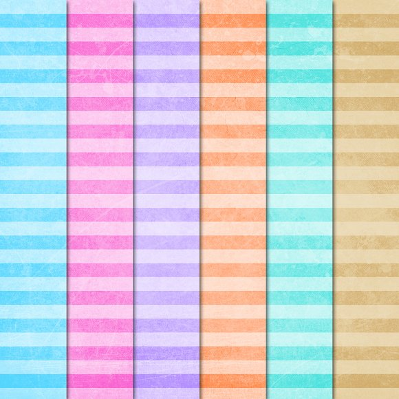 Digital Paper: Skinny Grunge Stripes