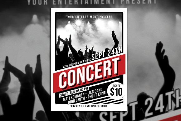 Music Concert Flyer Poster